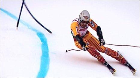 Giant Slalom skier