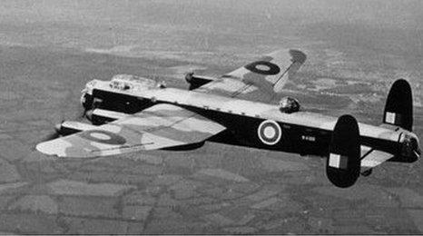 RAF Bomber Command Lancaster