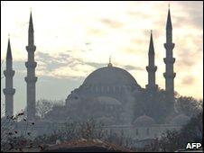 The Suleymaniye Mosque, Istanbul, Turkey