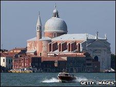 One of Palladio's churches: St Giorgio Maggiore, Venice