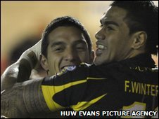 Vince Mellars was signed less than a month ago from Auckland Vulcans