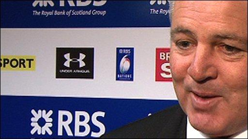 Wales coach Warren Gatland