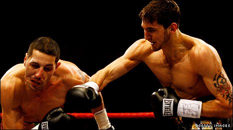 Antonio Brancalion and Nathan Cleverly