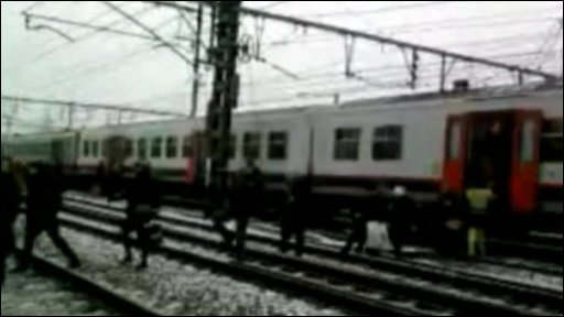 Belgium train crash