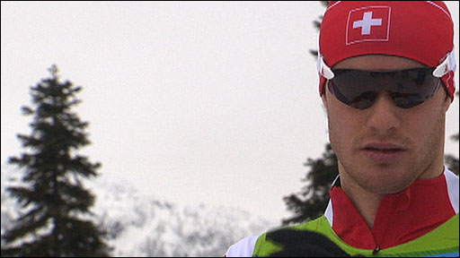 Switzerland's Dario Cologna