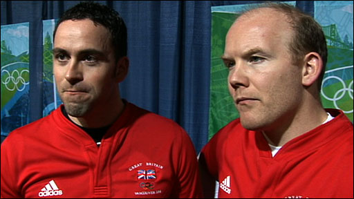 GB curlers David Murdoch and Ewan MacDonald