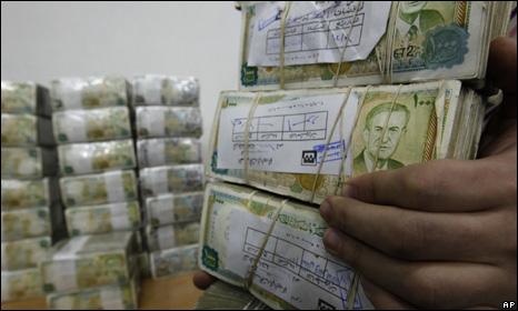 Syrian money