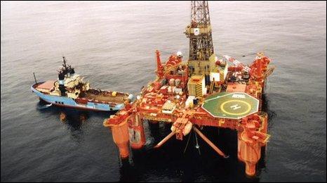 oil rig in 1998