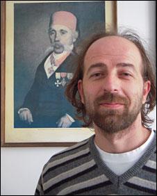Serbian teacher Goran Radonjic