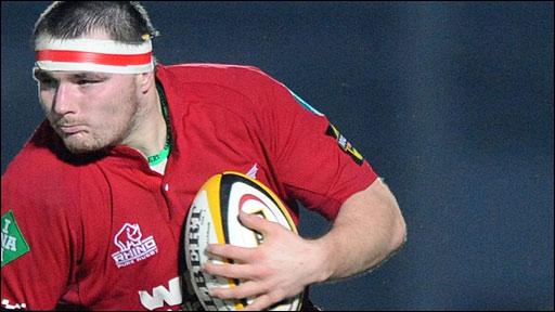 Scarlets and Wales hooker Ken Owens