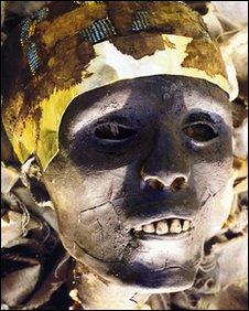 A replica of Tutankhamun's mummy. Copyright - World Heritage