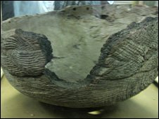 The &quot;ngoma lungundu&quot; wooden vessel