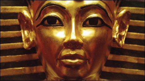 A replica of Tutankhamun's mask. Copyright - World Heritage