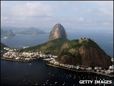 Rio de Janeiro, view of Sugar Loaf Mountain