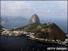 Rio de Janeiro, pandangan Sugar Loaf Mountain