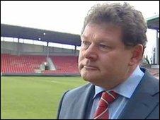 Wrexham chairman Ian Roberts