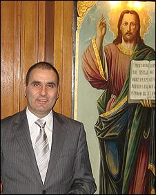 Bulgaria's interior minister Tzvetan Tzetanov