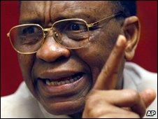 President Tandja (file image)