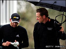 Sergio Garcia and Ian Poulter