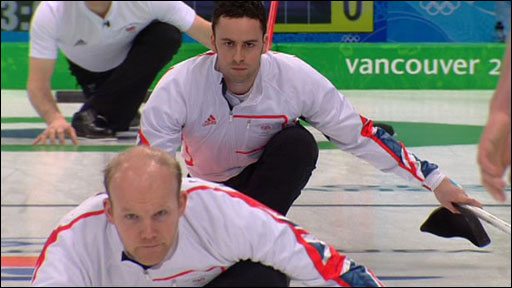 GB men's curlers