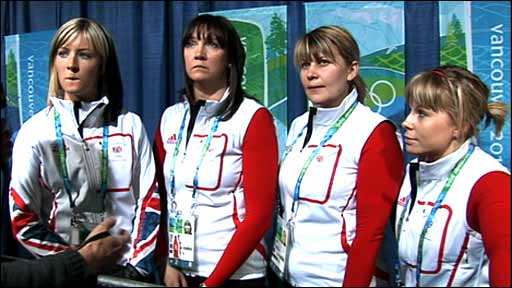 GB women curlers