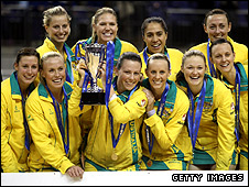 Australia's netball team