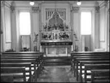 The school chapel at St Joseph's School