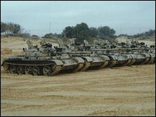 T-55 tanks - file image