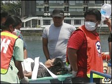 Woman injured in attack arrives in Zamboanga