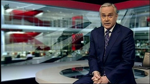 Huw Edwards wishes welsh schools participating in the School Report News Day 'Good Luck' and has some last minute words of advice