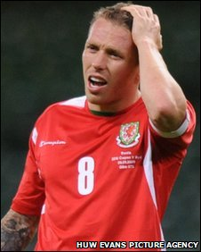 Wales captain Craig Bellamy