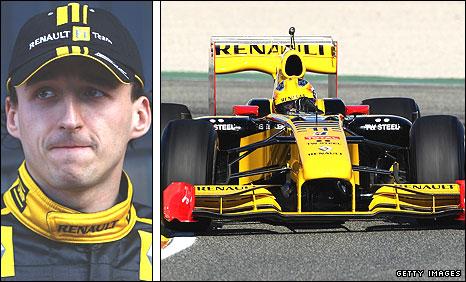 Resultado de imagen de Robert Kubica Renault f1