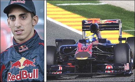 Toro Rosso driver Sebastien Buemi