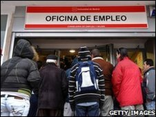 Government employment office, Madrid