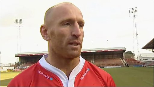 New Crusaders recruit Gareth Thomas
