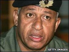 Indonesian leader Cmdr Frank Bainimarama (file photo)