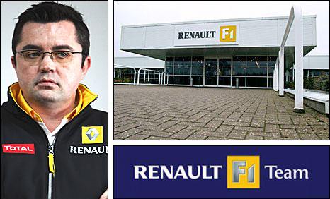 Renault team boss Eric Boullier