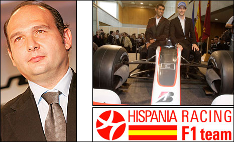 Hispania boss Colin Kolles