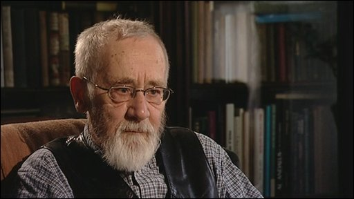 Writer Alan Sillitoe