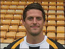 Port Vale midfielder Rob Taylor