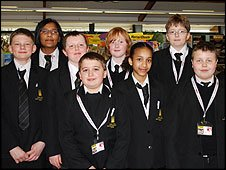 Whitley Abbey School Report team