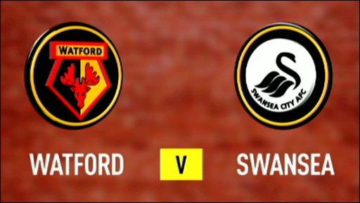 Watford 0-1 Swansea (UK only)