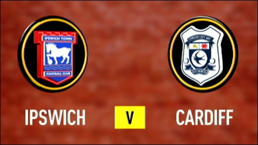 Ipswich 2-0 Cardiff (UK only)