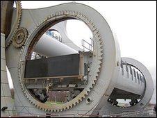 Close-up of The Falkirk Wheel (Julie Broadfoot)