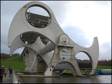 The Falkirk Wheel (Julie Broadfoot)