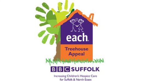 EACH Treehouse Appeal supported by BBC Suffolk
