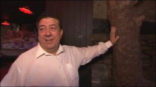 John Sicolo inside TJs nightclub