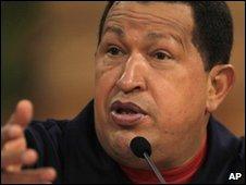 "Venezuela""s President Hugo Chavez (file image from 25/02/2010)"