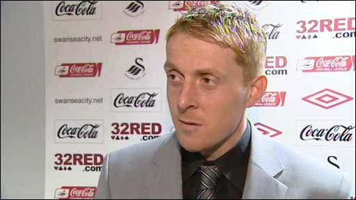 Swansea City captain Garry Monk