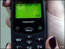 Text messaging (file picture)